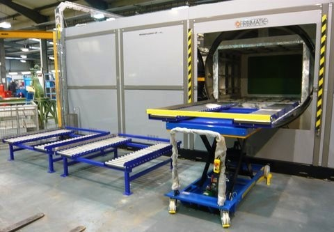 EK systems for the cleaning of large size pieces